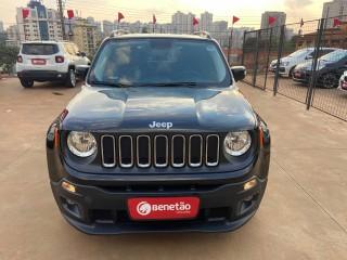 Veículo: Jeep - Renegade - 1.8 16V FLEX LONGITUDE 4P AUTOMÁTICO em Ribeirão Preto