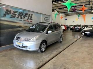 Veículo: Nissan - Livina - 1.8 SL 16V FLEX 4P AUTOMÁTICO em Ribeirão Preto