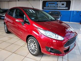 Veículo: Ford - Fiesta Hatch - Titanium 1.6 Flex Automático Todas as Revisões na Concessionária em Ribeirão Preto