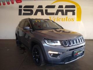 Veículo: Jeep - Compass - 2.0 16V FLEX LIMITED AUTOMÁTICO em Sertãozinho