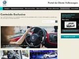 Portal do cliente Volkswagen tem conteúdo exclusivo para clientes