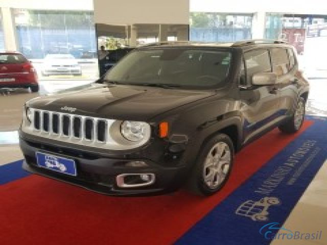 Mais detalhes do Jeep Renegade Limited 1.8 4x2 Flex aut. Flex