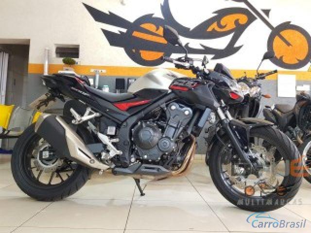 Mais detalhes do Honda CB Cb 500 f Gasolina