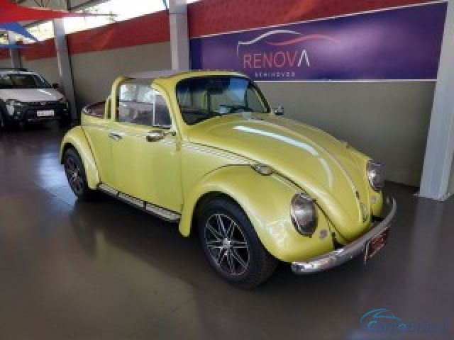 Mais detalhes do Volkswagen Fusca 1.3 CONVERSÍVEL 8V Gasolina