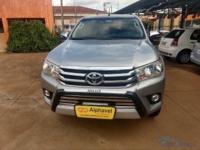 Mais detalhes do Toyota Hilux 2.8 SRV 4X4 CD 16V DIESEL 4P AUTOMÁTICO Diesel