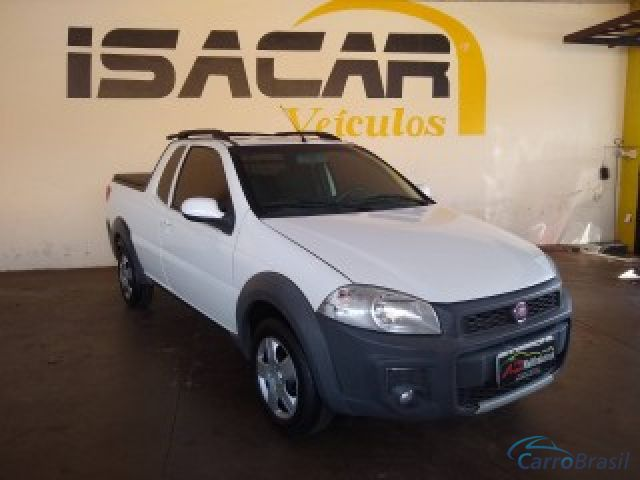Mais detalhes do Fiat Strada 1.4 MPI HARD WORKING CE 8V FLEX 2P MANUAL Flex