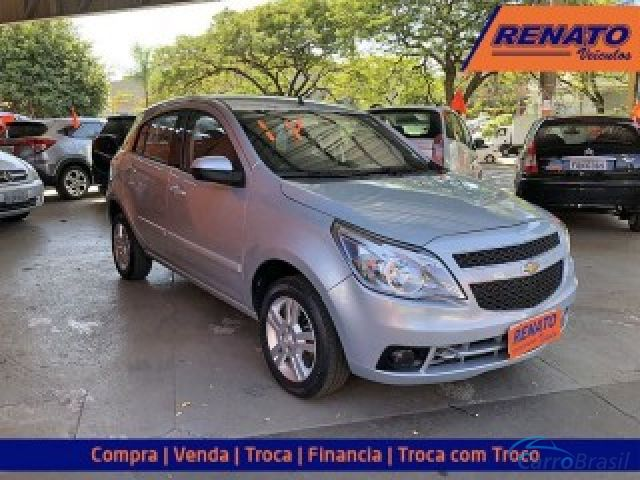 Mais detalhes do Chevrolet (GM) Agile 1.4 MPFI LTZ 8V FLEX 4P MANUAL Flex