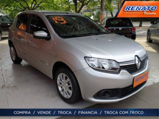 Mais detalhes do Renault Sandero 1.6 16V SCE FLEX EXPRESSION MANUAL Flex